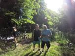 Vélo sur le sentier des forts
