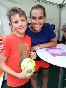 Nathan avec Dominika Cibulková