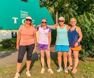 Equipe 45 dames du TC Westhouse après sa victoire à Fegersheim
